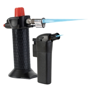 Black Butane Refillable Micro Torch 1300°C